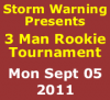3 Man Rookie Tournament