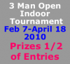 3 Man Indoor Tournament Series